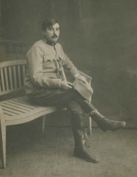 A picture of Paul Schilder in his Austro-Hungarian uniform. (Papers of Lauretta Bender)